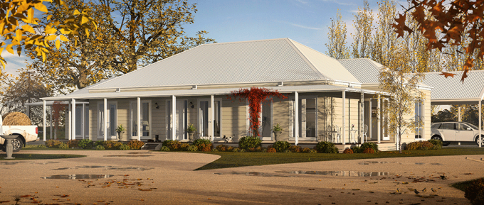 The Kimberley country home design!