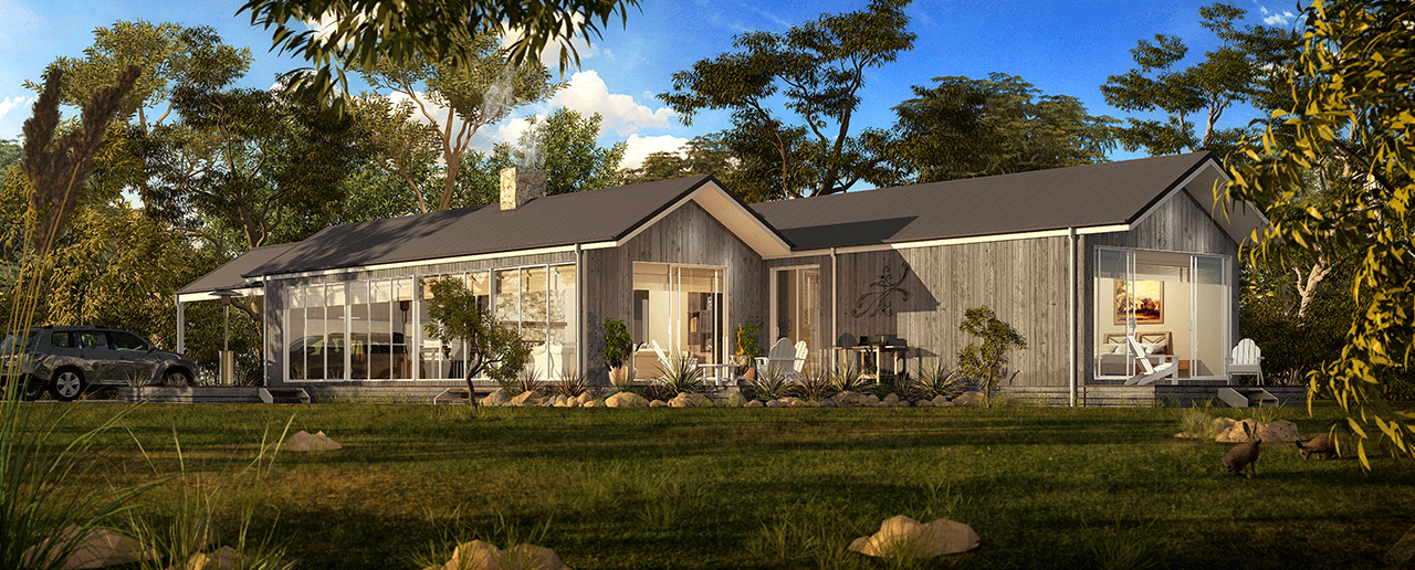 The Merri - The ideal contemporary living environment, in country homes