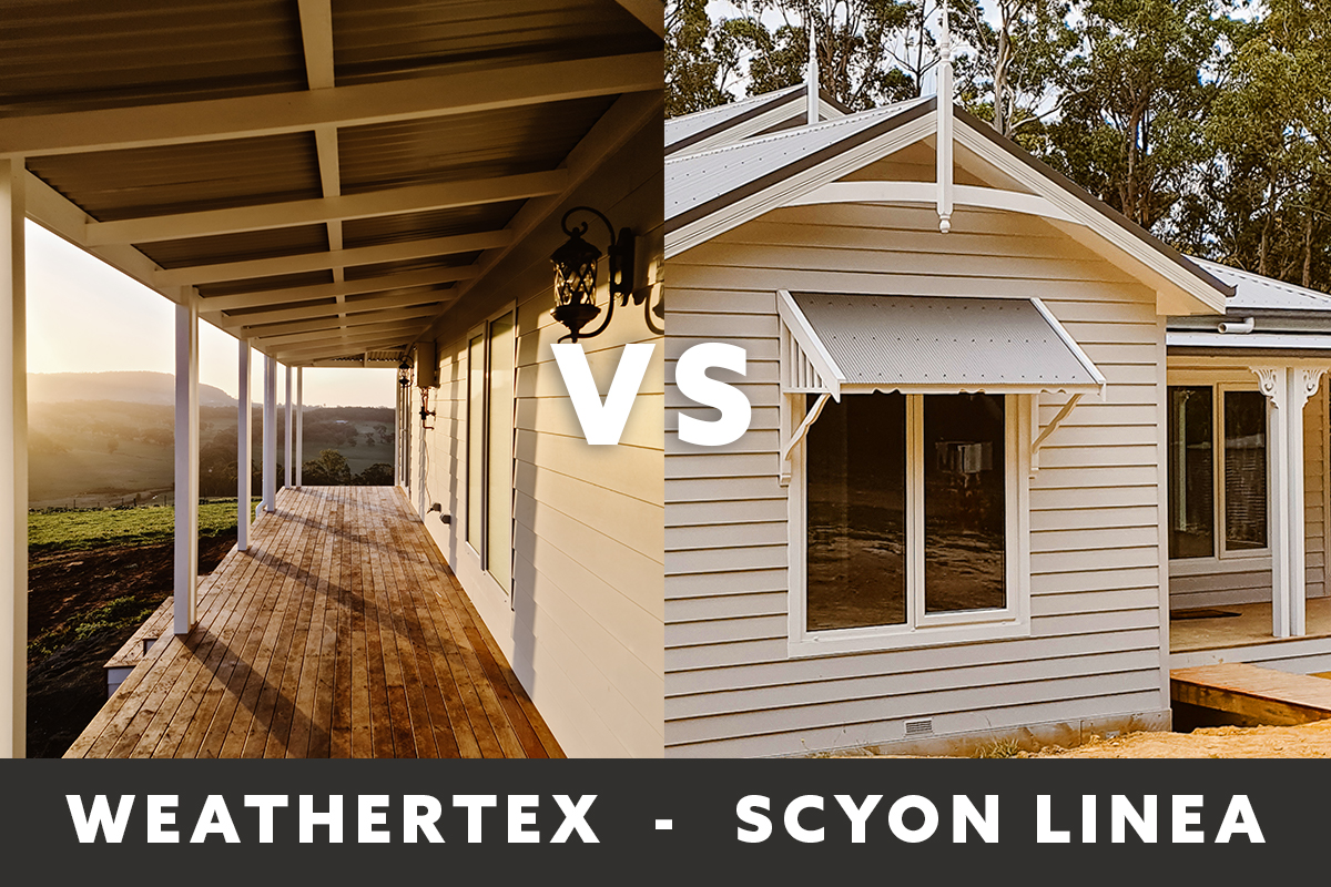 Weathertex vs Scyon Linea Cladding